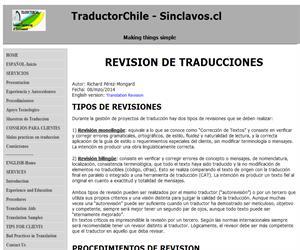 Revision de Traducciones: Tipos y Procedimientos
