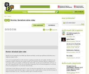 Biciclot, Barcelona sobre rodes (Edu3.cat)
