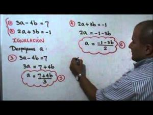 Solución de un sistema de ecuaciones usando cambio de variable (JulioProfe)
