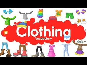 Clothes Vocabulary: English for Beginners (part 2)