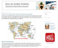Blog de Andrés Pedreño: MOOCs: la revolución de los itinerarios (nada volverá a ser igual)
