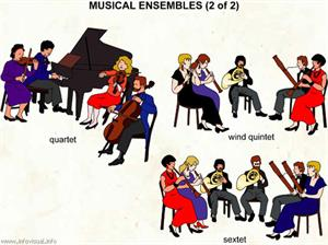 Musical ensembles (2 of 2)  (Visual Dictionary)