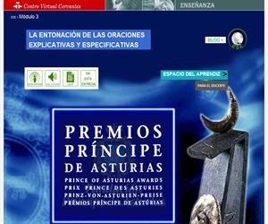 Los premios Príncipe de Asturias. Estructuras especificativas y explicativas. En sintonía con el español