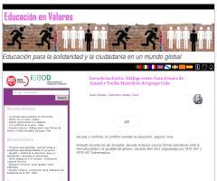 Escuela inclusiva. Diálogo entre Juan Gómez de Amani y Noelia Monedero del grupo Cala
