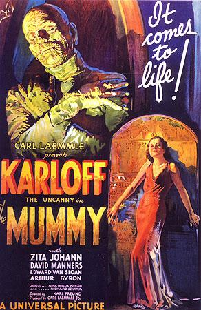 Reseña: La momia, 1932 (Horas de oscuridad)