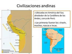 Civilizaciones andinas: resumen