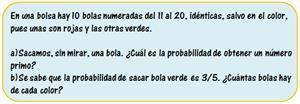 Ejercicios de probabilidad. Espacio muestral y suceso