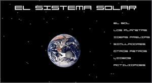 El Sistema Solar para 1º de Secundaria