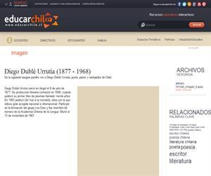 Diego Dublé Urrutia (1877 - 1968) (Educarchile)