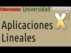 Aplicaciones Lineales en R4 biyectiva e inversa. Cibermatex