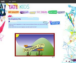 Mi ciudad imaginaria (kids.tate.org.uk)
