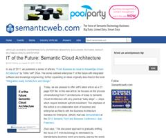 IT of the Future: Semantic Cloud Architecture - Semanticweb.com