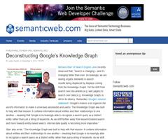Deconstructing Google's Knowledge Graph - semanticweb.com