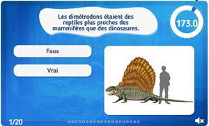 Quiz : Les dinosaures et autres animaux anciens (jeux-historiques.com)