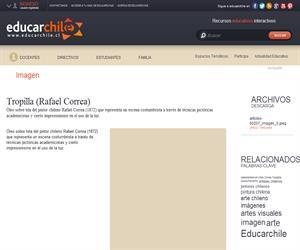 Tropilla (Rafael Correa) (Educarchile)