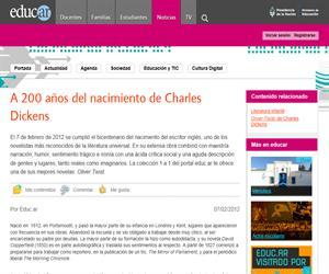 A 200 años del nacimiento de Charles Dickens