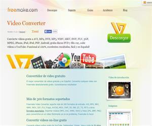 Free Video Converter, convierte gratis tus vídeos educativos en formatos estándar