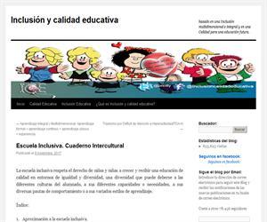 Escuela Inclusiva. Cuaderno Intercultural.
