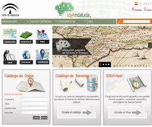 Infraestructura de Datos Espaciales de Andalucía
