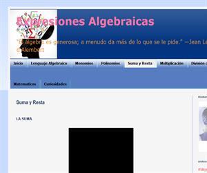 Suma y resta de expresiones algebraicas (EnclicloAbierta)