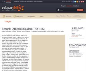 Bernardo O'Higgins Riquelme (1778-1842) (Educarchile)