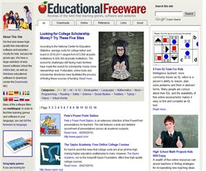 Educational Freeware: programas y juegos educativos gratuitos