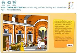 Prehistory, ancient history and the Middle Ages: Ancient History. Inglés 6º Primaria (SM)