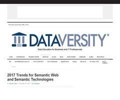 2017 Trends for Semantic Web and Semantic Technologies - DATAVERSITY