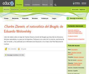 Eduardo Wolovelsky: Charles Darwin, el naturalista del Beagle