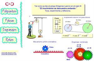 Engranatges. Toca experimenta y reflexiona (mecánica básica para Tecnología)