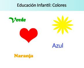 Ficha de actividades sobre los colores