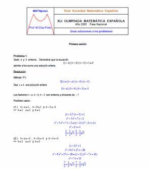 Olimpiadas matemáticas primaria (problemas resueltos)