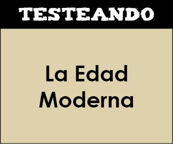La Edad Moderna. 2º ESO - Historia (Testeando)
