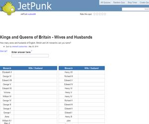 Kings and Queens of Britain - Wives and Husbands