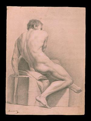 Colección de dibujos antiguos de Bellas Artes