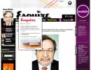 Entrevista de la revista Esquire a Juan Luis Cebrián, consejero delegado de Prisa.