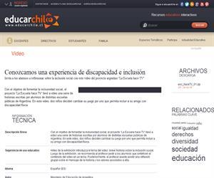Argentina. Hace TV 1 (Educarchile)