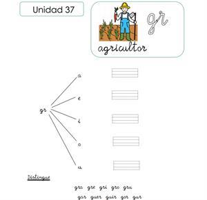 Unidad 37. Agricultor (grupo consonántico GR). CPEPA Somontano de Barbastro
