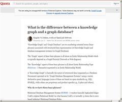 ¿Cuál es la diferencia entre Grafo de Conocimiento y Base de Datos de Grafos? - Kingsley Idehen