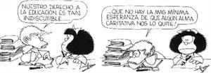 Derechos de la Infancia comentados por Mafalda y sus amigos