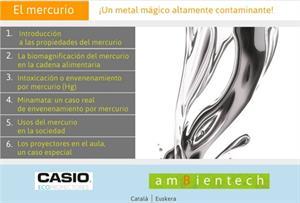 El mercurio, un metal altamente contaminante