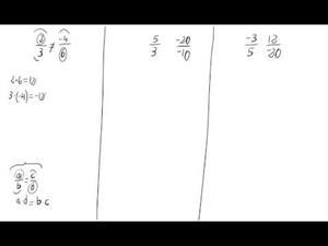 Comprobación de equivalencia fracciones