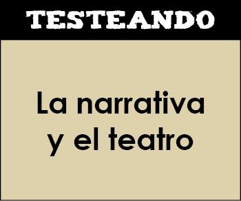 La narrativa y el teatro. 6º Primaria - Lengua (Testeando)