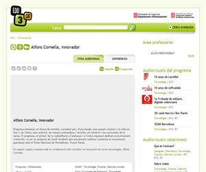 Alfons Cornella, innovador (Edu3.cat)