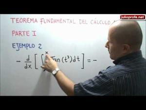 Teorema Fundamental del Cálculo (JulioProfe)