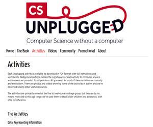 Computer Science Unplugged, para aprender informática sin ordenador