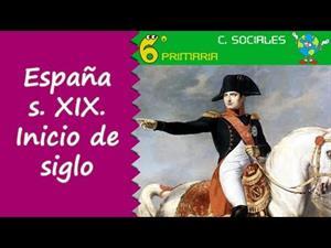 España en el siglo XIX. Inicio de siglo