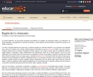 9na Región Patrimonio Regional (Educarchile)