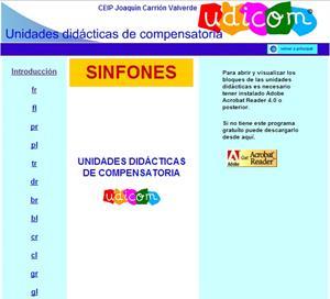 Sinfones, las sílabas trabadas del castellano (UDICOM)