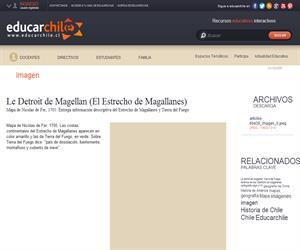 Le detroit de Magellan (Educarchile)